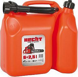 Kombinovaná bandaska HECHT 6 l + 2,5 l