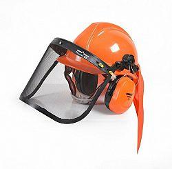Ochranná helma so slúchadlami a štítom CE HECHT 900100