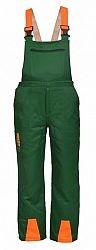 Profesionálne ochranné nohavice CE HECHT 900120 - XXL